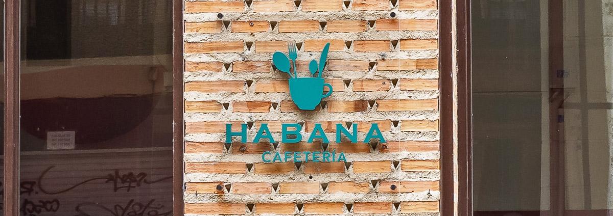 Cafetería Habana en la calle Mayor de Palencia